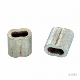 Crimp Sleeves for 10½ Gauge Wire, pack of 12