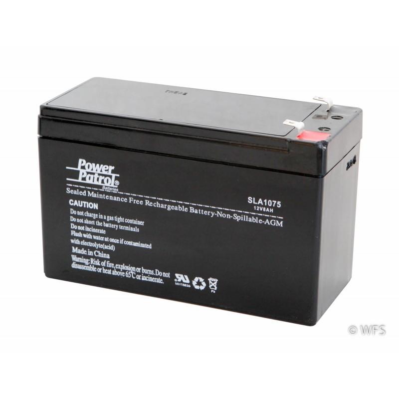 Sealed AGM Battery - 12 volt, 7.5 amp