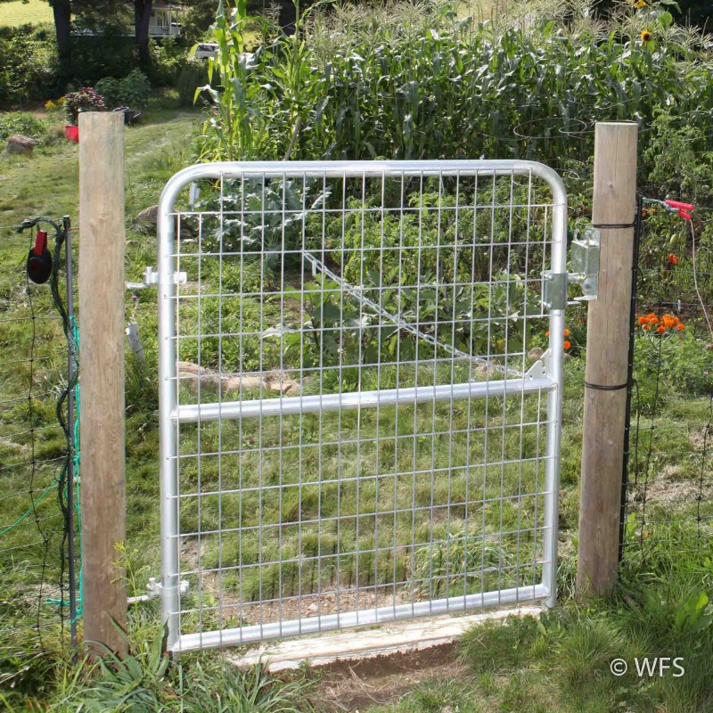 "50"" x 4' Heavy Duty 2x4"" Mesh Gate"