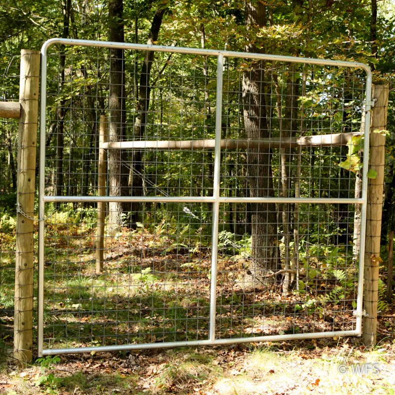 "98"" x 10' Heavy Duty 4x4"" Mesh Gate"