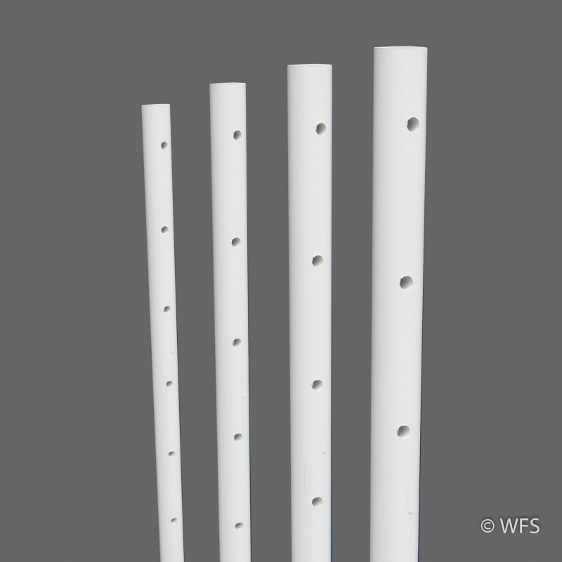 "Drilled Fiber Rod, ½"" x 4'"