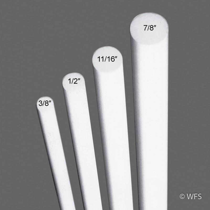 """Fiberglass Rod, ½"""" x 7'"""