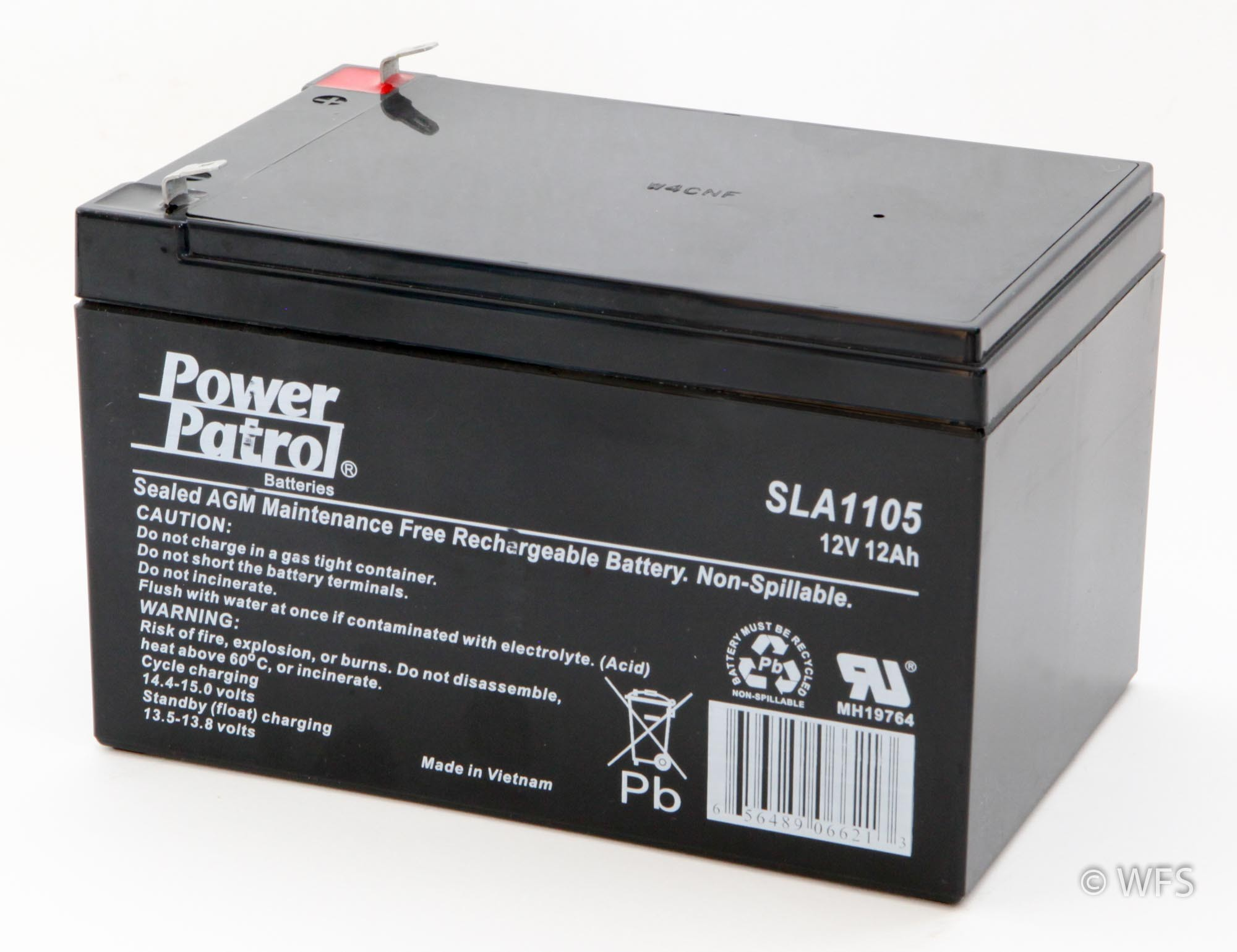 12 Volt Battery : Sealed agm battery volt amp
