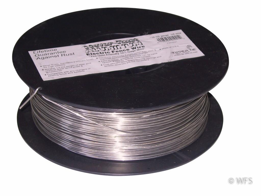 High Tensile Wire 12 5 Center Aluminum Wiring Connectors Gauge 1320 Rh Wellscroft Com 125 Ga