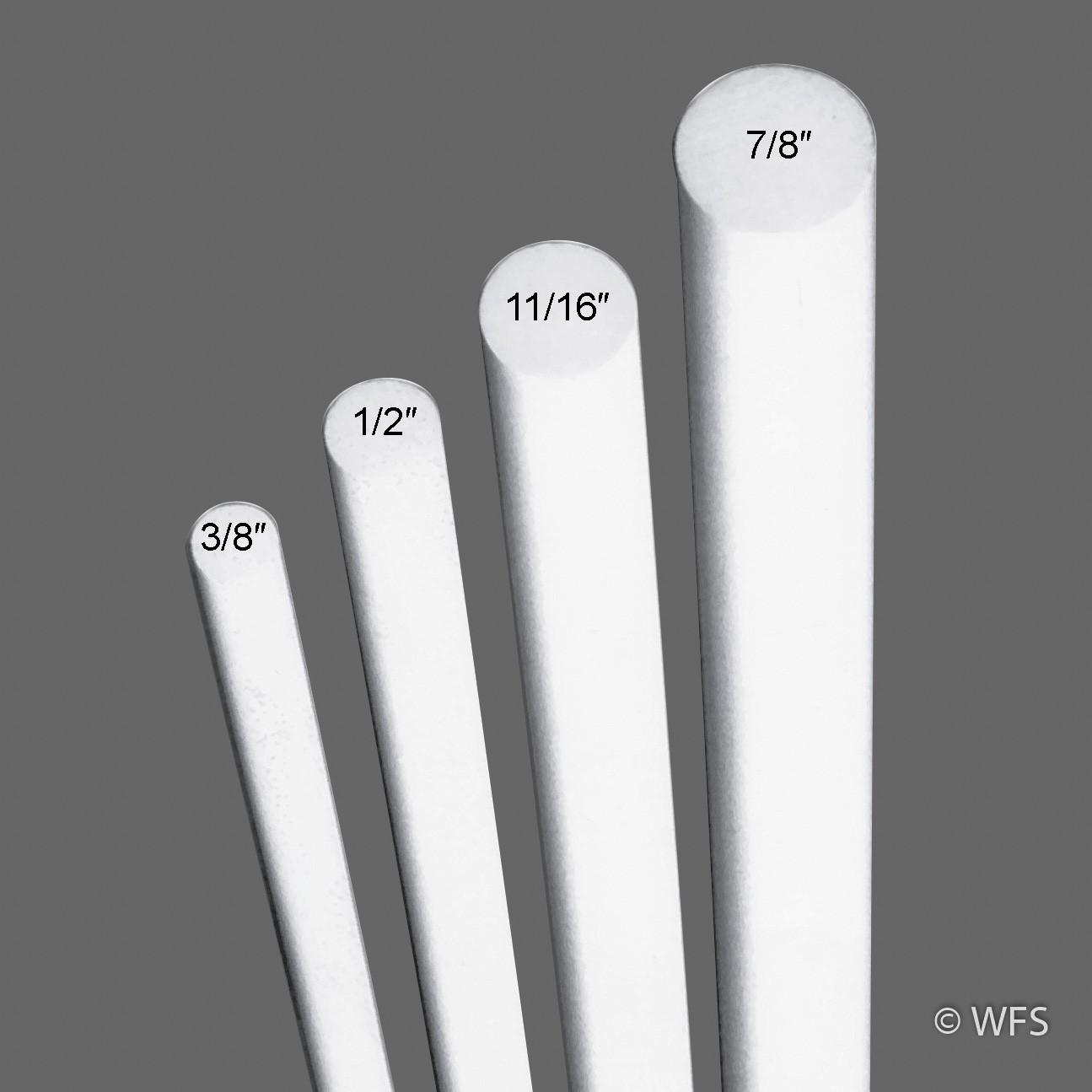 fiberglass rod 3 8 x 6