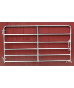 "3 5/8"" Heavy Duty Tube Gate, 50"" x 8'"