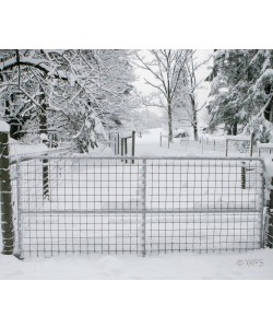"62"" x 12' Heavy Duty 4x4"" Mesh Gate"