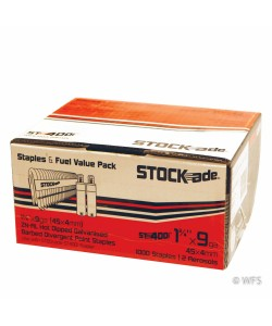 "1.75"" STOCKade Staples w/ Cartridges for Cordless Staplers"