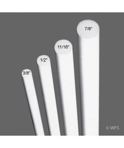 """Fiberglass Rod, 11/16"""" x 6'"""