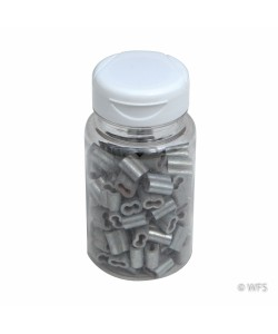 Short Splicing Sleeves for 12½ Gauge Wire, jar of 102