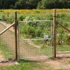 "74"" x 6' Heavy Duty 4x4"" Mesh Gate"
