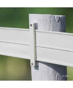 Centaur® Hot Rail® Bracket, White