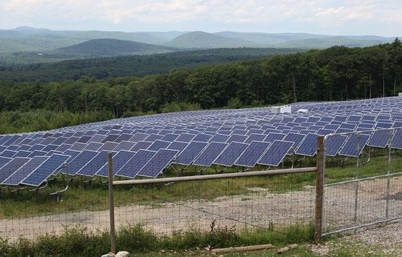 Solar Arrawy Perimeter Fence Solutions from Wellscroft