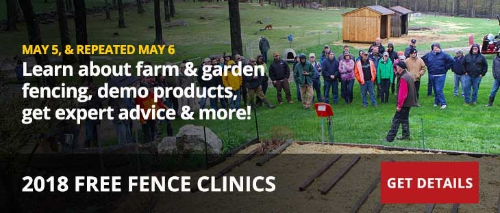 Free Spring Fence Clinic 2018